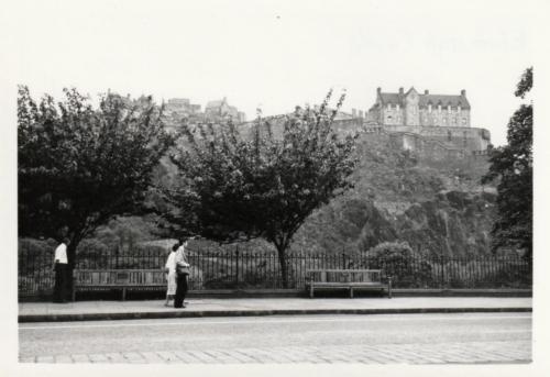 Edinburgh Princes St 1980