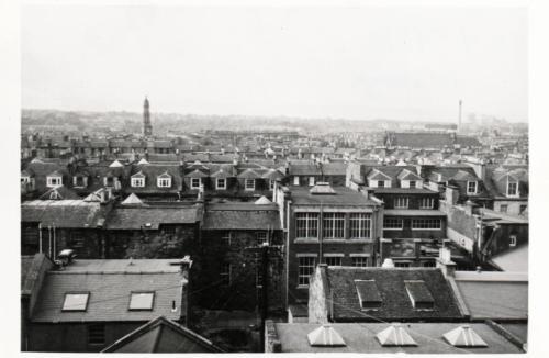 Edinburgh Rooftops 1980