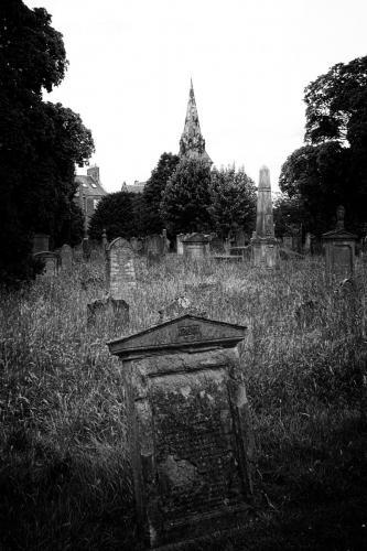 Greyfriars Burial Ground - Perth, Scotland.  Photo by Jimmy Peggie