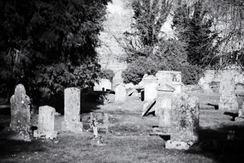 Tibbermore Church & Graveyard, Perthshire, Scotland.  Photo by Jimmy Peggie